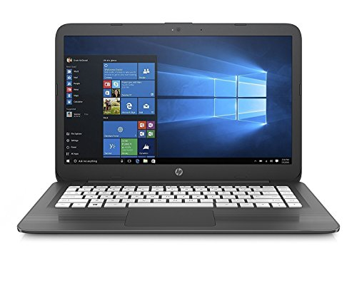 2018 HP High Performance 14in HD laptop | Intel Dual-Core Celeron N3060 up to 2.48GHz | 4GB RAM | 32GB SSD | Wifi | HDMI | USB 3.0 | Webcam | No Optical | Windows 10 (Renewed) (Black)