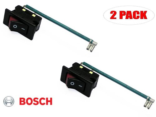 Bosch Switch (Bosch 1617 Router Replacement On Off Switch # 2610016525 (2 PACK))