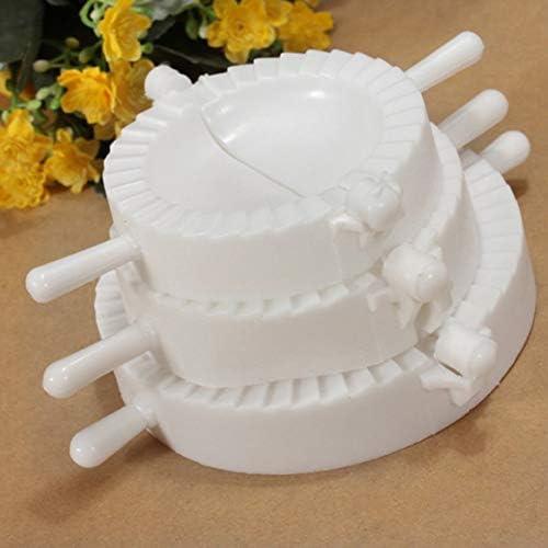 dfghszedtgs 3 Größe Küche Knödel Werkzeuge Knödel Form Knödel Maker Wrapper Teigschneider Gerät Jiaozi Herstellung Schimmel Küche Zubehör