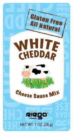 Riega Foods Gluten Free All Natural White Cheddar Sauce Mix, 1-Ounce (Pack of 8)