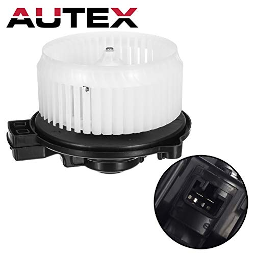 AUTEX HVAC Blower Motor Assembly Compatible with Honda Fit 2009-2014 AC Blower Motor Air Conditioner 700247 79310TF0G01