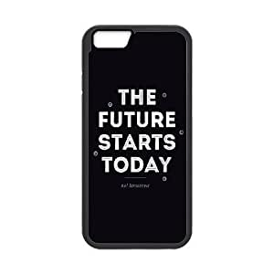 iPhone 6 4.7 Inch Cell Phone Case Black quotes future starts today FY1444639