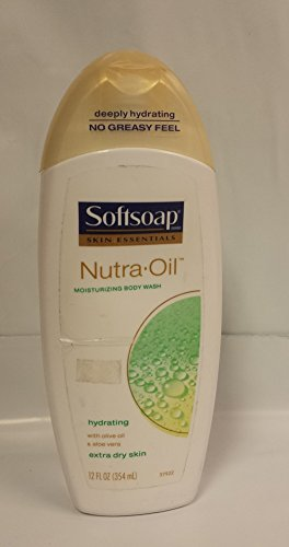 Softsoap Skin Essentials Nutra Oil Moisturizing/hydrating Body Wash with Oliv...
