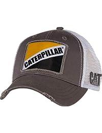 Cat Gray Twill w Patch Cap