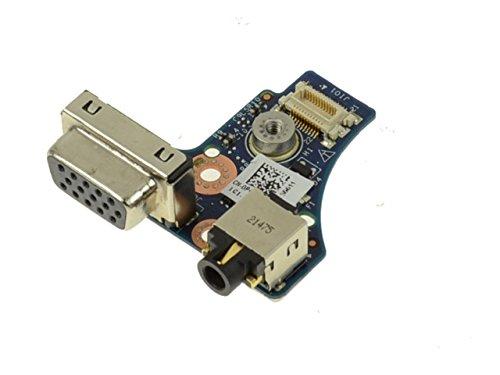(P4K62 - Dell Latitude E6320 VGA / Audio Port Jack IO Circuit Board P4K62)