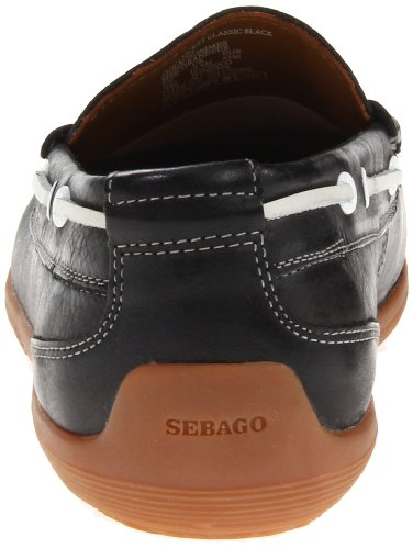 Sebago Heren Nantucket Classic Loafer Zwart