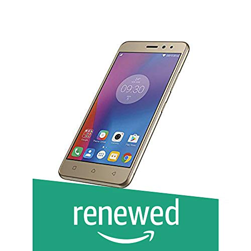 Renewed  Lenovo K6 Power  Gold, 32 GB