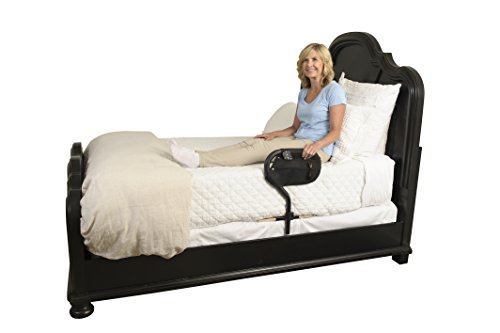 Stander BedCane - Adult Home Bed Safety Rail & Handle + Height Adjustable Elderly Standing Assist Aid & Pouch by Stander (Image #3)