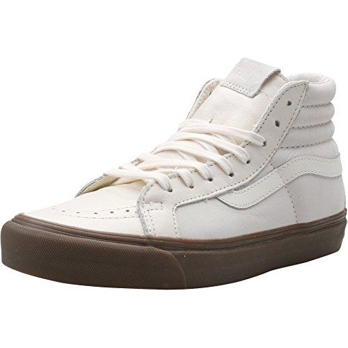 Vans OG SK8-Hi LX Premium Leather Marshmellow Shoes 5uiwtd