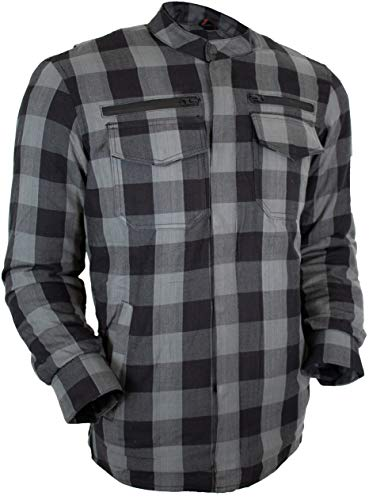 MDM Herren Motorrad Aramid Hemd mit Protektoren in verschiedenen Farben
