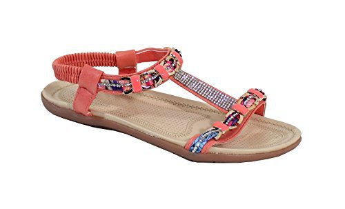 By Shoes - Sandalias para Mujer Orange