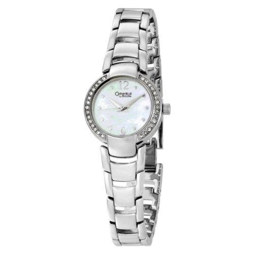Caravelle by Bulova Women's 43L119 Bracelet Crystal Bezel Watch
