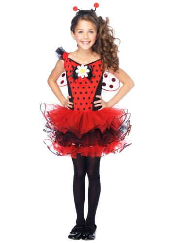 Big Girls' Ladybug Cutie Costume X-Small (3T-4T)