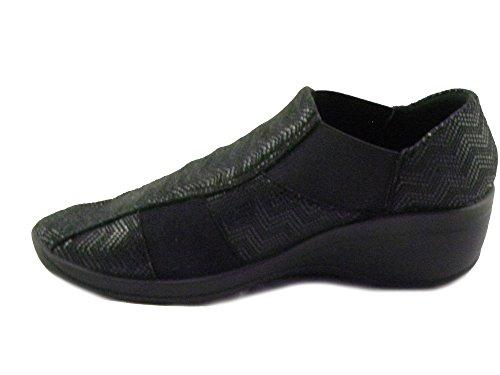 L10 Scarpa Ultracomoda Black Donna Arcopedico vq1zT6w