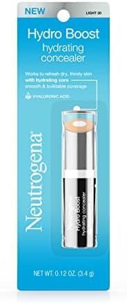 Neutrogena Hydro Boost Hydrating Concealer, 20 Light 0.12 Oz