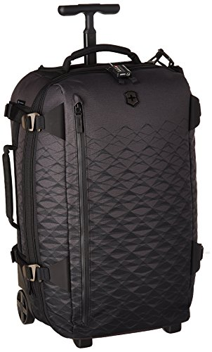 "Victorinox VX Touring 2-in-1 Softside Upright Luggage, Anthracite, Carry-On, Frequent Flyer (22.4"")"