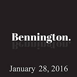 Bennington, January 28, 2016