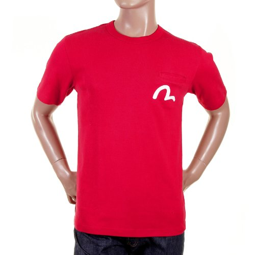 Evisu red Crew Neck t Shirt - Evisu Short Men