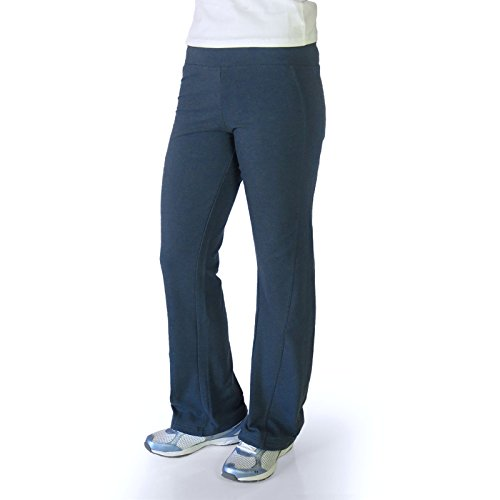 Alex + Abby Women's Plus-Size Stretch Cotton Pant 3X True Blue Navy