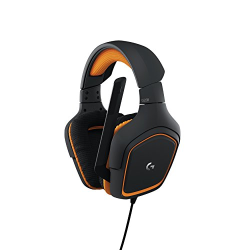 Logitech G231 Prodigy Gaming Headset  Game-Quality Stereo Sound  Playstion 4, Xbox One, Nintendo Switch Gaming System Compatible  Folding, Unidirectional Mic  Lay-Flat Earpieces