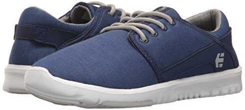 Zapatillas gris Etnies Azul marino blanco Mujer dwf6qI6AS