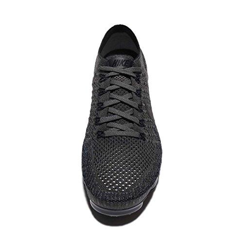 Nike Wmns Luft Vapormax Flyknit Kører Sneakers Midnat Tåge / Flerfarvede-sort 699X4pBo
