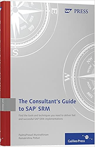 Consultants Guide SAP SRM Comprehensive