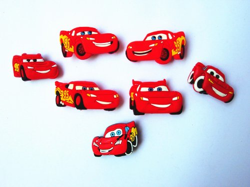 15 Disney Cars 2 Shoe Charms for Fit Jibbitz Croc Shoes