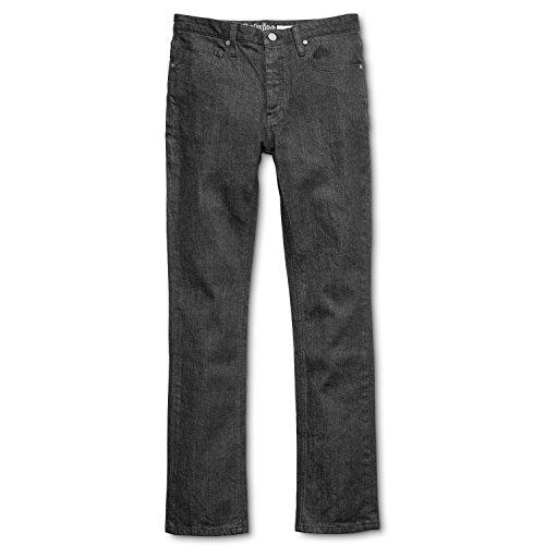 Jeans E2 Straight Raw Etnies Black Men p1qapwr