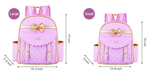 NTJQVUHG Mädchen Taschen Prinzessin Kinder wasserdichte Tasche für 3-14 Jahre alt NO5 L