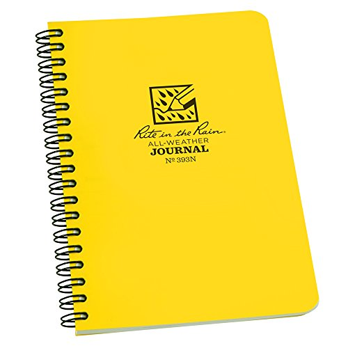 rite-in-the-rain-all-weather-side-spiral-notebook-4-5-8-x-7-yellow-cover-journal-pattern-numbered-pa