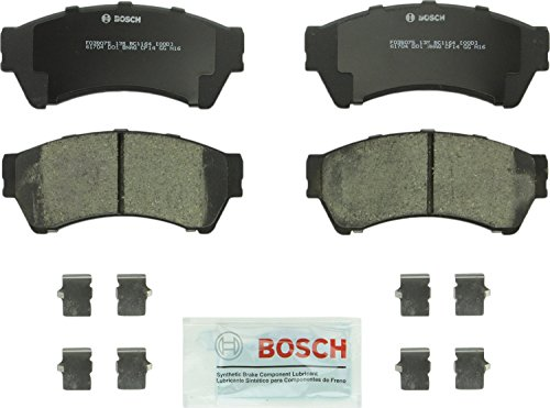 (Bosch BC1164 QuietCast Premium Ceramic Disc Brake Pad Set For: Ford Fusion; Lincoln MKZ, Zephyr; Mazda 6; Mercury Milan, Front)