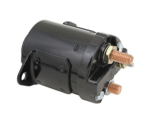 ACCEL (ACC 40114B) Starter Solenoid Motorcycle Fits Most 67-80 Sportster/84-88 Softail/71-86 Dyna/65-84 Touring [4 And 5 Speeds] Fits All 82-88 Dyna/65-84 Touring Black  Starter Solenoid