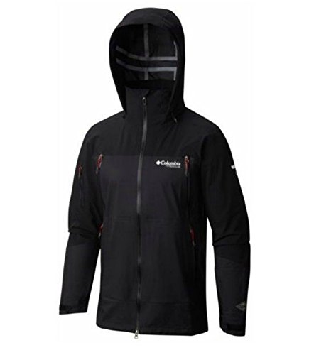 Columbia Men's A Basin RipperTitanium Shell Jacket, Black, - Titanium Jacket Mens Columbia