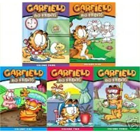 Amazon Com Garfield And Friends Seasons 1 2 3 4 5 1 5 Movies Tv