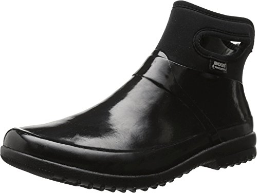 Bogs Women's Seattle Insulated Rain Boot Round Toe Black 8 M