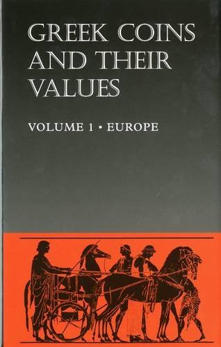 Greek Coins and Their Values (Hb) Vol 1: Europe by David R. Sear (1994-11-23)