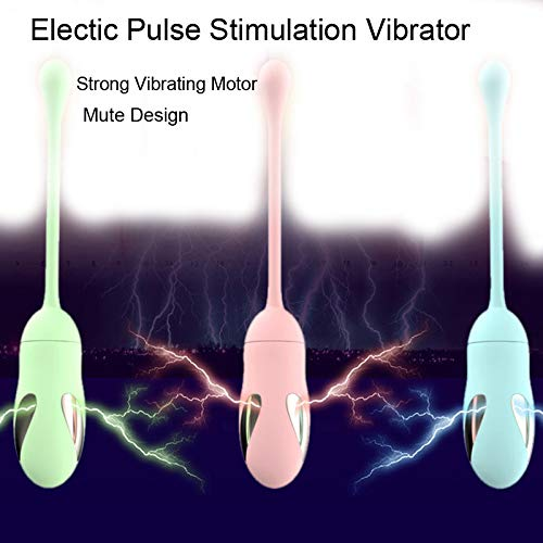 Mute Mute Mute Electic Pulse estimular Stimulate Vagina Ball Vibrator Jump Egg G-Spot Massager Clitoris Stimulator Masturbación Juguetes sexuales para mujeres, azul 296b36