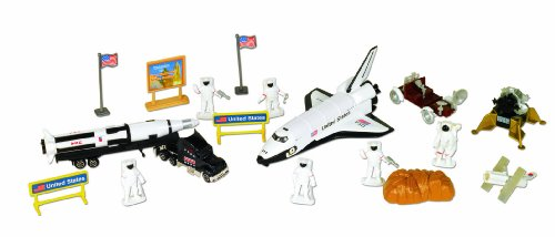 Lunar Vehicle - Small World Toys Vehicles - Space Station 20 Pc. Playset