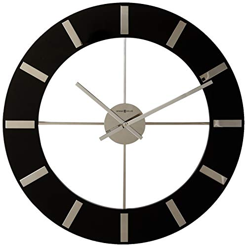 Howard Miller 625-602 Onyx Wall Clock