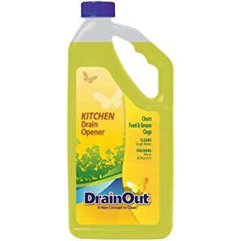 Amazon Com Drainout Kitchen Drain Opener 32 Fl Oz