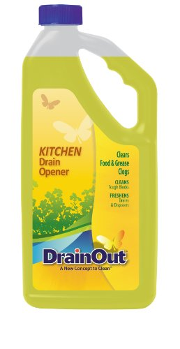 DrainOUT Kitchen Drain Opener, 32 Fl. Oz. ()
