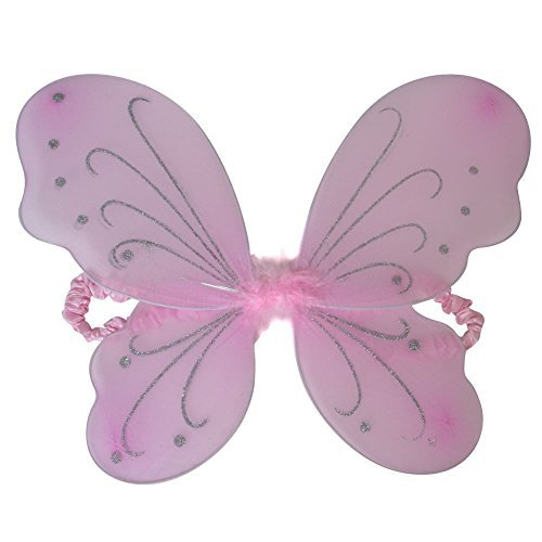 Pastel Pink Butterfly Fairy -