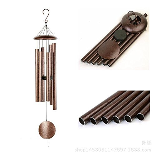 Agirlgle 44 inch Wind Chimes- Tuned Large Garden Outdoor Windchimes for Patio and Terrace - Best Metal Musical Windchime Outdoor and Home Decoration by Agirlgle
