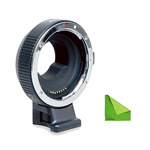 Commlite Updated Electronic AF Auto-Focus Built-in is Lens Mount Adapter EF-MFT EF-M4/3 from Canon EOS EF/EF-S Lens to M4/3 Camera Panasonic GH3 GH4 GX7, Olympus OM-D E-5,E-M10,BMPCC