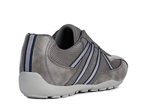 De Chaussures Homme À Mode L'air chaussures slipon Baskets Geox Ravex perméable élastique gars U923fc pantoufles Grau Sport TSEnwqy0xz