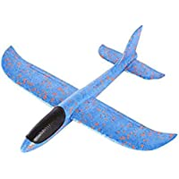 DIY Hand Launch Throwing Glider Aircraft Inertial Foam Airplane Toy Plane Model Broken-resistant  Kids Toys