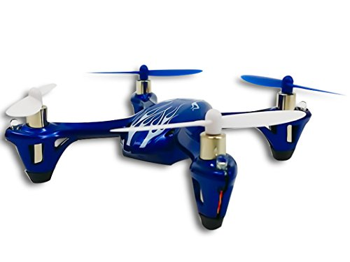 Hubsan X4 H107L Royal Blue H107 LED with Bonus Propeller Rotor Protection Guard (As shown)