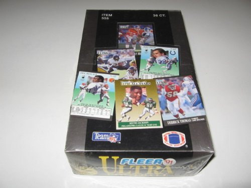 1991 Fleer Ultra Football Box