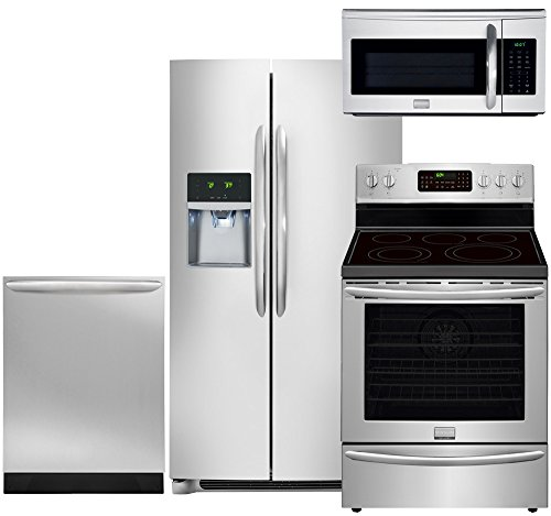 Frigidaire Gallery 4-Piece Stainless Steel Kitchen Package with FGHC2331PF 36